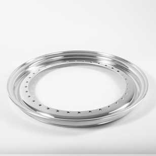 BBS Outer Lip wheel half 0.5x17 Aluminium 34-holes