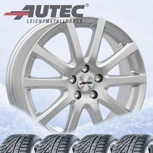 Winter wheels Autec Skandic 7,5x18 5x114,3 with 225/60R18 104V XL Hankook for Toyota