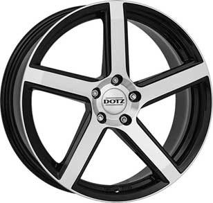 Dotz Wheel CP5 dark 7,0x16 ET41 4x108 16 Inch