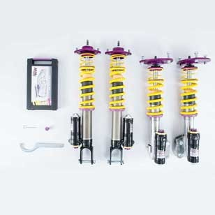 KW Coilover kit Clubsport 3-way incl. top mounts 39771243 for PORSCHE 911