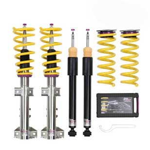 KW Coilover Street Comfort inox 18081033 for VW Golf