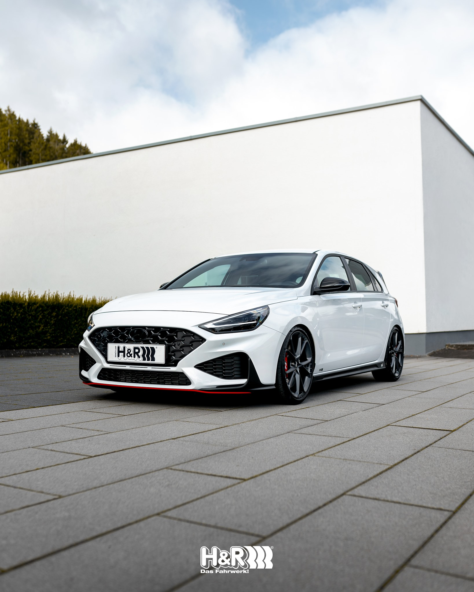 Lowering springs and coilover for Hyundai i30 N