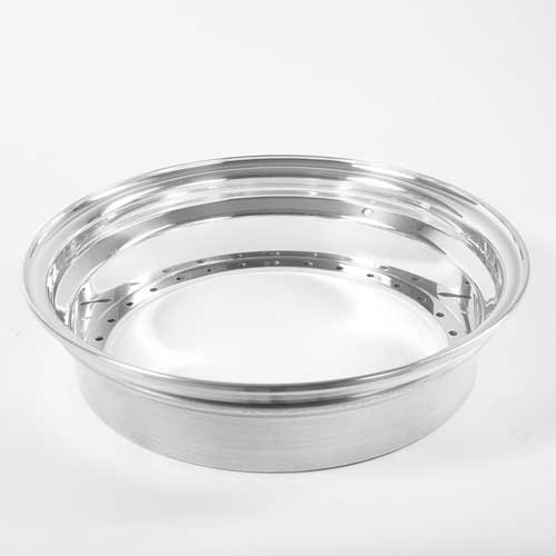 BBS Outer Lip wheel half 3.5x15 Stainless Steel 30-holes