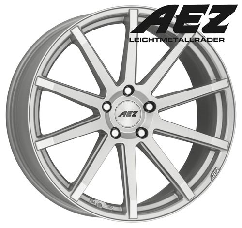 AEZ Wheel Straight shine 8,0x18 ET40 5x112 18 Inch