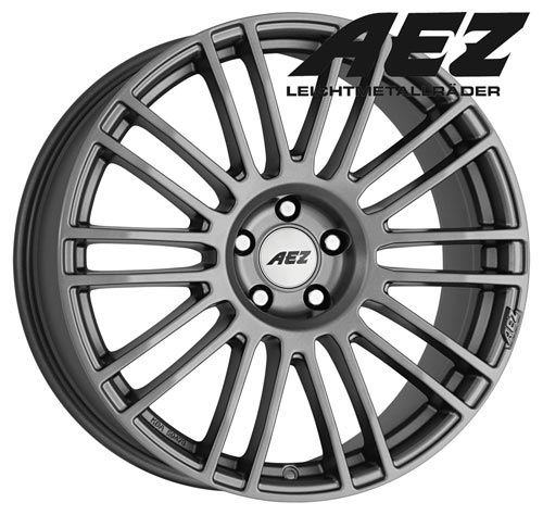 AEZ Wheel Strike graphite 8,5x19 ET35 5x112 19 Inch