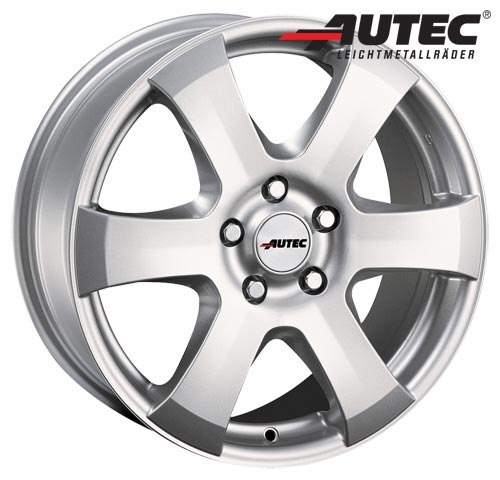 Autec Wheel Baltic 5,5x14 ET43 4x100 14 Inch Brilliant silver
