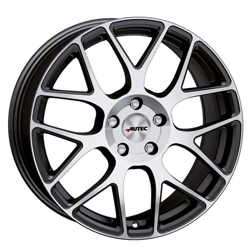Autec Wheel Hexano-smp 7,0x16 ET45 4x100 16 Inch Black matt polished