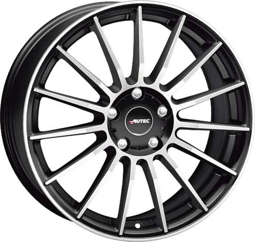 Autec Wheel Lamera-smp 8,0x18 ET45 5x108 18 Inch Black matt polished