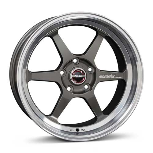 Borbet Wheel DB8GT 8,5x18 ET20 5x120 18 Inch graphite rim polished