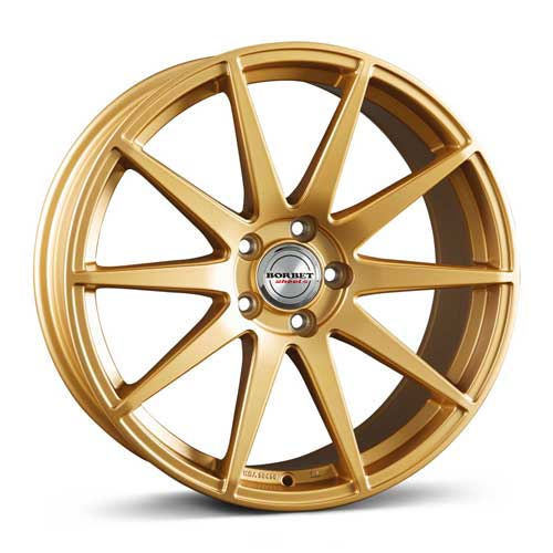 Borbet Wheel GTX 8,5x19 ET35 5x112 19 Inch gold matt