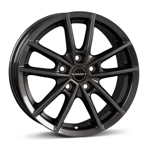 Borbet Wheel W 7,0x17 ET40 5x108 17 Inch mistral anthracite glossy