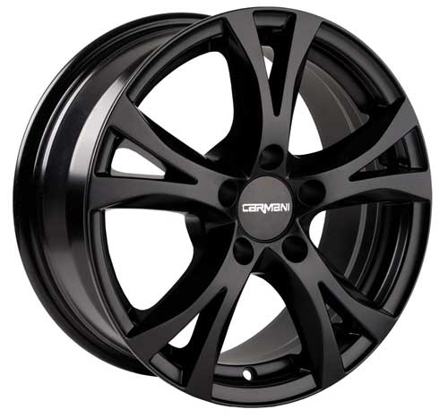 Carmani Wheel 09 Compete 6,5x15 ET45 5x108 15 Inch Black matt