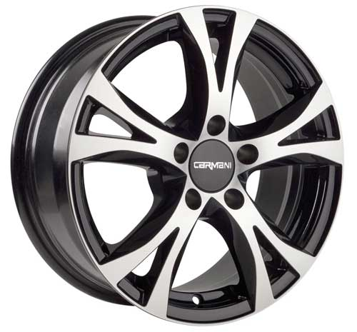 Carmani Wheel 09 Compete 6,5x16 ET45 5x108 16 Inch black polish