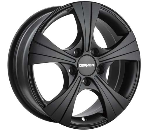 Carmani Wheel 11 Rush 6,5x16 ET50 5x108 16 Inch Black matt