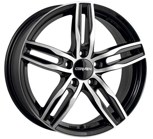 Carmani Wheel 14 Paul 7,5x17 ET45 5x114,3 17 Inch black polish