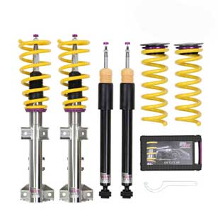 KW Coilover Street Comfort inox 18081032 for VW Golf