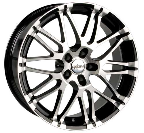Oxigin Wheel 14 Oxrock 10,0x22 ET45 5x108 22 Inch black full polish