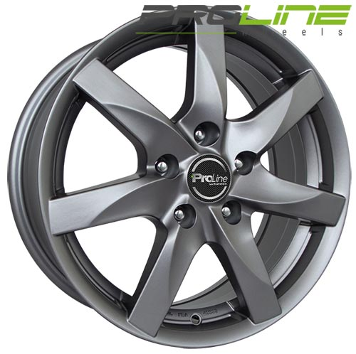 Proline Wheel BX100 6,0x16 ET23 4x108 16 Inch Matt Grey