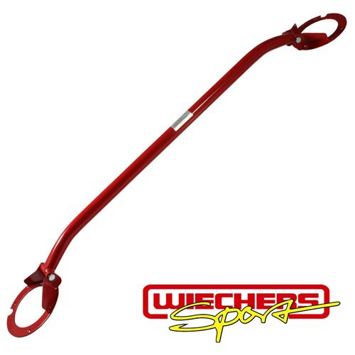 Wiechers strut bar steel 171009 for Honda Civic upper front