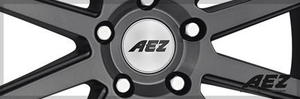 Detail 1 AEZ Wheel Straight dark 8,0x18 ET35 5x112 18 Inch