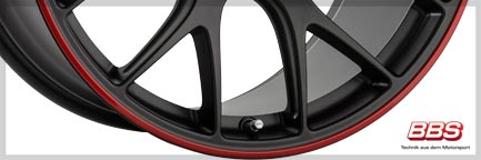 Detail 2 BBS Wheel CH-R 10,0x20 ET18 5x112 20 Inch Nürburgring-Edition