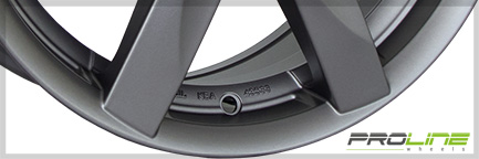Detail 2 Proline Wheel BX100 6,0x16 ET23 4x108 16 Inch Matt Grey